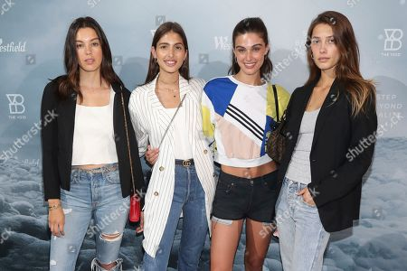 Denise Schaefer, Laura Growley, Mariah Strongin, Chelsey Weimar. Denise Schaefer, Laura Growley, Mariah Strongin, and Chelsey Weimar pose at The VOID, celebrating the opening of the New York City location in the Oculus at Westfield World Trade Center, in New York, New York