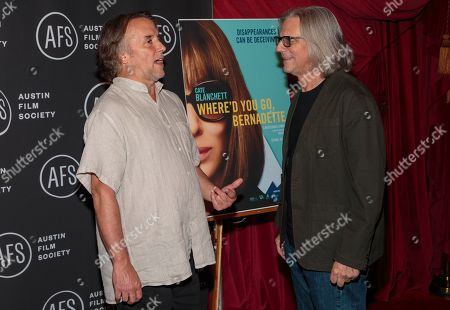 Stock Picture of Richard Linklater and Vince Palmo