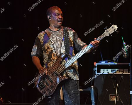 Editorial photo of Michael Ray and Robert Bell of Kool & the Gang in concert at The Coconut Creek Casino, USA - 15 Aug 2019