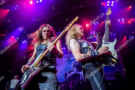 Editorial image of Iron Maiden in Concert - , OH, Cincinnati, USA - 15 Aug 2019
