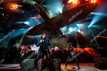 Editorial picture of Iron Maiden in Concert - , OH, Cincinnati, USA - 15 Aug 2019