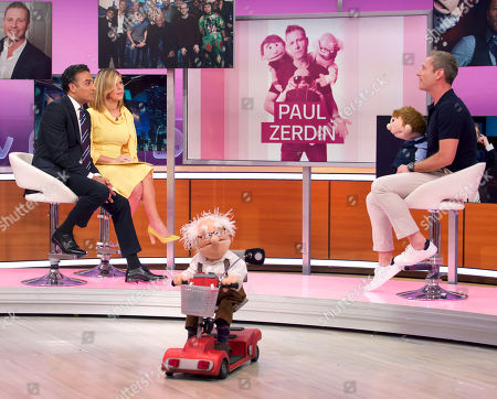 Adil Ray, Kate Garraway, Albert, Sam, Paul Zerdin