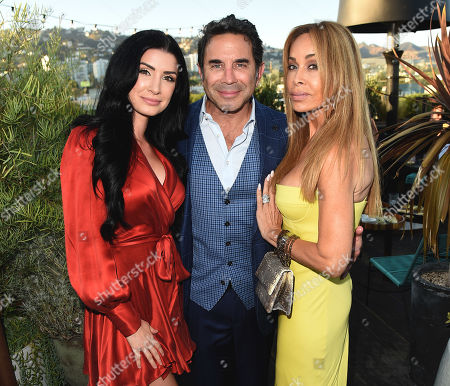 Stock Image of Brittany Pattakos, Faye Resnick, and Dr. Paul Nassif attend the new skincare system launch, as|if by Nassif, held at EP+LP in West Hollywood, CA #PrettyFilter #FreshStart #GetWoke #AreWeClear? #YouFeelMe?