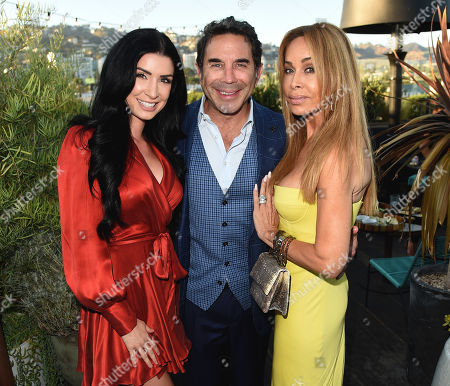 Editorial photo of as|if by Nassif skincare system launch celebration, Los Angeles, USA - 15 Aug 2019