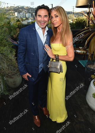 Stock Photo of Faye Resnick and Dr. Paul Nassif attend the new skincare system launch, as|if by Nassif, held at EP+LP in West Hollywood, CA #PrettyFilter #FreshStart #GetWoke #AreWeClear? #YouFeelMe?