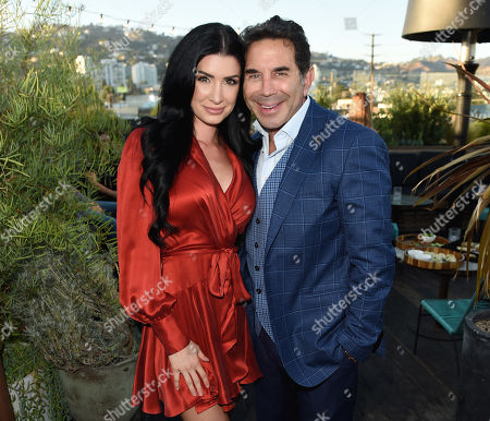 Dr. Paul Nassif and Brittany Pattakos attend the new skincare system launch, as|if by Nassif, held at EP+LP in West Hollywood, CA #PrettyFilter #FreshStart #GetWoke #AreWeClear? #YouFeelMe?