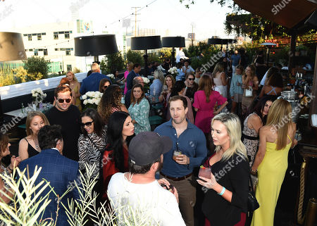 Atmosphere during the Dr. Paul Nassif new skincare system launch, as|if by Nassif, held at EP+LP in West Hollywood, CA #PrettyFilter #FreshStart #GetWoke #AreWeClear? #YouFeelMe?