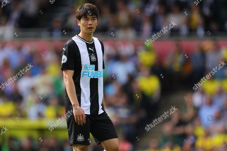 Ki Sung-Yueng of Newcastle United - Norwich City v Newcastle United, Premier League, Carrow Road, Norwich, UK - 17th August 2019