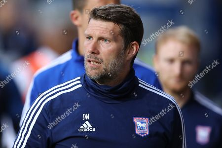 Stock Image of Ipswich Town goal-keeping coach, Jimmy Walker - Ipswich Town v AFC Wimbledon, Sky Bet League One, Portman Road, Ipswich, UK - 20th August 2019