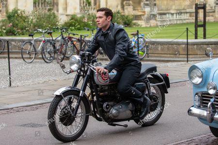 Editorial image of 'Granchester' TV show on set filming, Cambridge, Cambridgeshire, UK - 14 Aug 2019