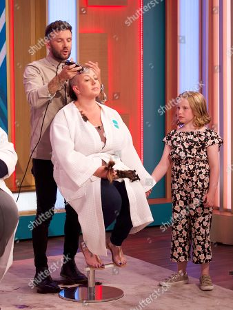 Editorial image of 'This Morning' TV show, London, UK - 16 Aug 2019