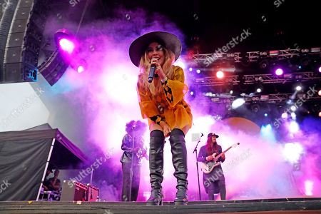 Editorial picture of Miss Li in concert, Grona Lund, Stockholm, Sweden - 15 Aug 2019