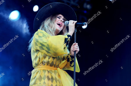 Editorial image of Miss Li in concert, Grona Lund, Stockholm, Sweden - 15 Aug 2019