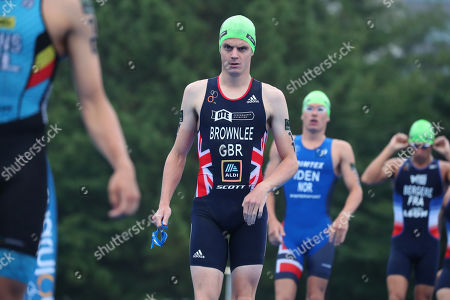 Editorial picture of Triathlon: ITU World Olympic Qualification Event, Tokyo, Japan - 16 Aug 2019