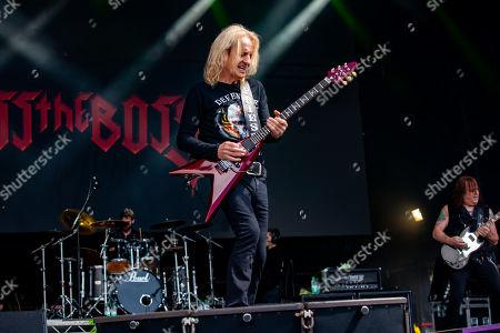 Editorial photo of Bloodstock Festival, Derbyshire, UK - 11 Aug 2019