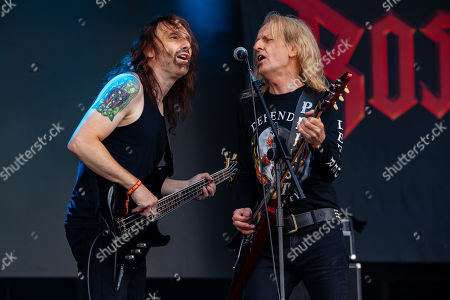 Mike Lepond of Ross The Boss and KK Downing