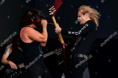 Stock Picture of March Lopes and KK Downing