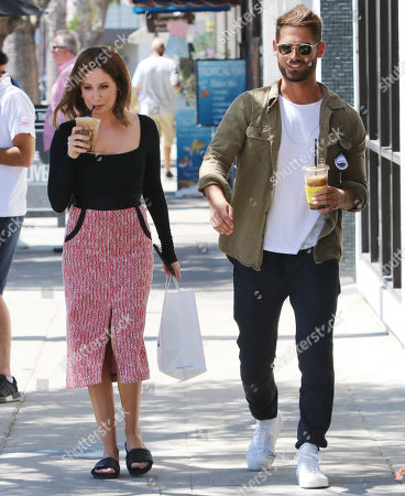 Editorial photo of Ashley Tisdale and husband Christopher out and about, Los Angeles, USA - 14 Aug 2019