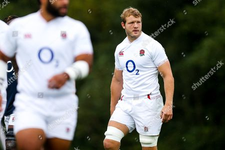 Joe Launchbury during England Rugby training in Bristol ahead of their Quilter Series game against Wales in Cardiff
