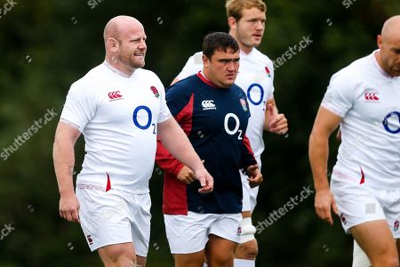 Dan Cole during England Rugby training in Bristol ahead of their Quilter Series game against Wales in Cardiff