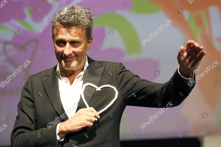 Pawel Pawlikowski, during the ceremony award honorary heart of Sarajevo at the 25th Sarajevo Film Festival, in Sarajevo, Bosnia and Herzegovina, 16 August 2019. The festival, which runs from August 16 to August 23, will screen 270 films.