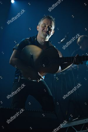 Editorial photo of The Villagers in concert at Leith Theatre, Edinburgh International Festival, Scotland, UK - 15 Aug 2019