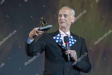 John Waters from USA receives the Pardo d'onore at the Piazza Grande at the 72th Locarno International Film Festival in Locarno, Switzerland, 16 August 2019. The Festival del film Locarno runs from 07 to 17 August 2019.
