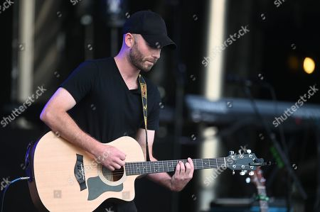 Scott Gagne performs with Cassidy Daniels as the warmup act to Billy Currington during a summer concert held at The Freeman Stage in Selbyville, DE