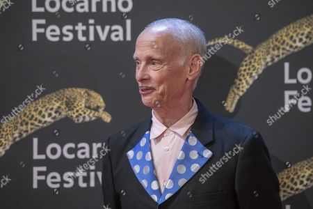 Stock Picture of John Waters at the red carpet at the Piazza Grande at the 72th Locarno International Film Festival in Locarno, Switzerland, 16 August 2019. The Festival del film Locarno runs from 07 to 17 August 2019.
