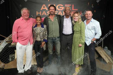 Nick Nolte, Jada Pinkett Smith, Gerard Butler, Morgan Freeman, Piper Perabo and Director Ric Roman Waugh