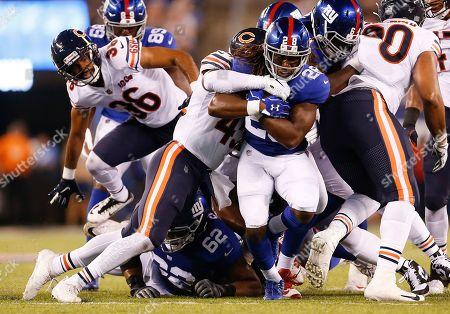 Editorial photo of Bears Giants Football, East Rutherford, USA - 16 Aug 2019