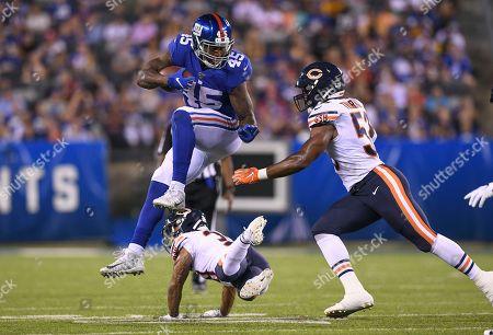 Editorial image of Bears Giants Football, East Rutherford, USA - 16 Aug 2019