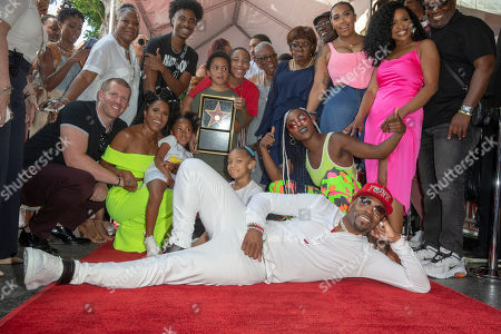 Editorial image of Teddy Riley receives a  star on the Hollywood Walk of Fame, USA - 16 Aug 2019