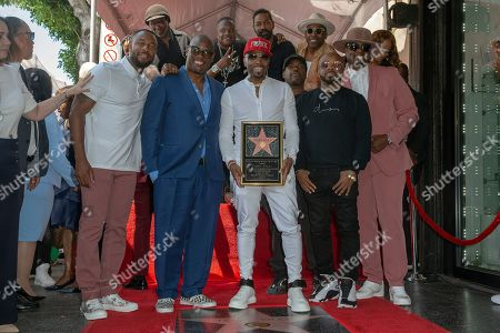 Editorial photo of Teddy Riley receives a  star on the Hollywood Walk of Fame, USA - 16 Aug 2019