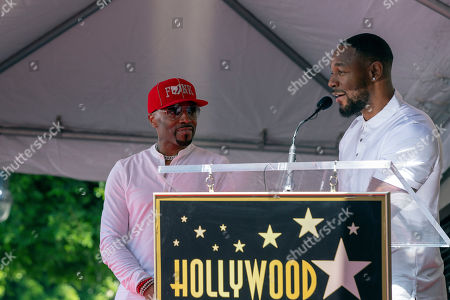 Editorial picture of Teddy Riley receives a  star on the Hollywood Walk of Fame, USA - 16 Aug 2019