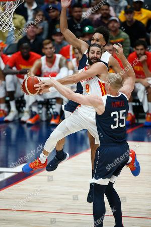 Editorial photo of USA vs. Spain - FIBA Exhibition Game, Anaheim - 16 Aug 2019