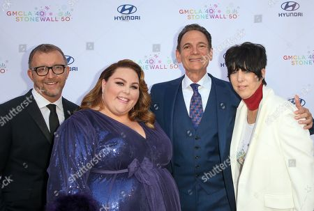 Steve Holzer, Chrissy Metz, Lou Spito and Diane Warren