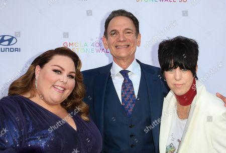 Chrissy Metz, Lou Spito and Diane Warren