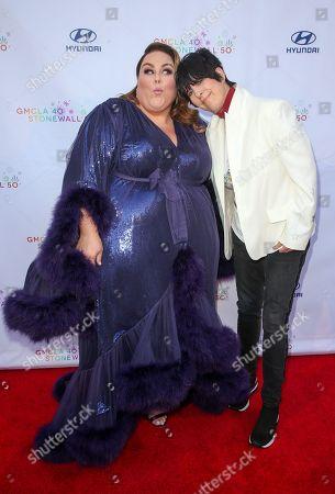 Chrissy Metz and Diane Warren