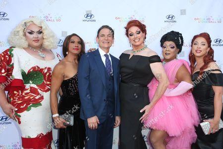 Eureka O'Hara, Lou Spito and guests