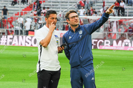 Editorial photo of Football: Germany, 1. Bundesliga, Muenchen - 16 Aug 2019