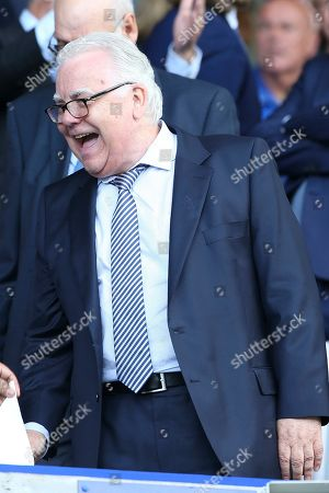 EvertonChairman Bill Kenwright during the Premier League match between Everton and Watford at Goodison Park, Liverpool
