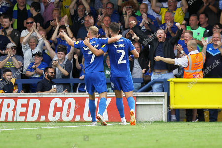 Editorial picture of AFC Wimbledon vs Accrington Stanley, Sky Bet EFL League 1, Football, the Cherry Red Records Stadium, Kingston, Surrey, United Kingdom - 17 Aug 2019