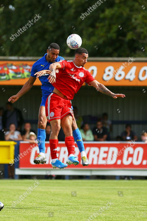Editorial image of AFC Wimbledon vs Accrington Stanley, Sky Bet EFL League 1, Football, the Cherry Red Records Stadium, Kingston, Surrey, United Kingdom - 17 Aug 2019