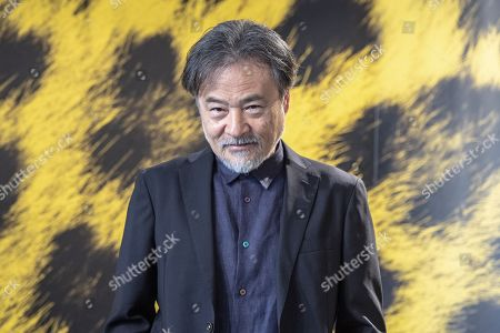 """Kiyoshi Kurosawa from Japan poses during the photocall for the film """"to the ends of the world"""" at the 72th Locarno International Film Festival in Locarno, Switzerland, 17 August 2019. The Festival del film Locarno runs from 07 to 17 August 2019."""