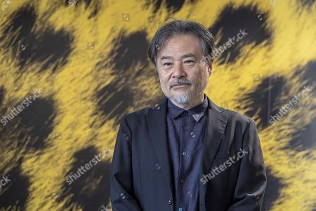 """Stock Photo of Kiyoshi Kurosawa from Japan poses during the photocall for the film """"to the ends of the world"""" at the 72th Locarno International Film Festival in Locarno, Switzerland, 17 August 2019. The Festival del film Locarno runs from 07 to 17 August 2019."""
