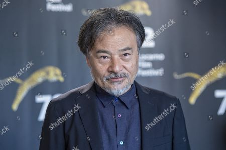 """Stock Picture of Kiyoshi Kurosawa from Japan poses during the photocall for the film """"to the ends of the world"""" at the 72th Locarno International Film Festival in Locarno, Switzerland, 17 August 2019. The Festival del film Locarno runs from 07 to 17 August 2019."""