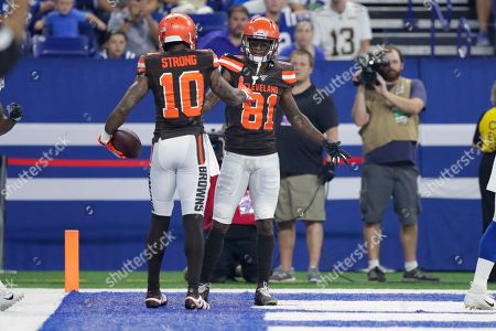 Editorial picture of Browns Colts Football, Indianapolis, USA - 17 Aug 2019