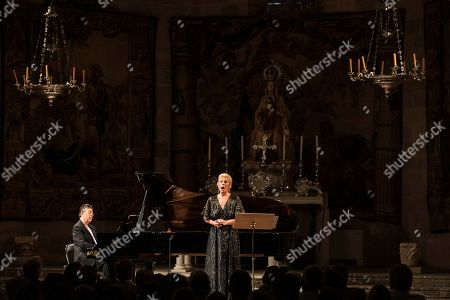 Editorial picture of Tribute to late soprano Montserrat Caballe during Peralada Festival, Spain - 17 Aug 2019