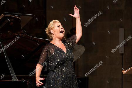 Editorial photo of Tribute to late soprano Montserrat Caballe during Peralada Festival, Spain - 17 Aug 2019